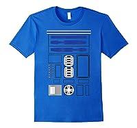 Star Wars R2-d2 Costume T-shirt Royal Blue