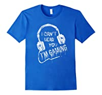 Funny Computer Gaming Gamer Video Game Gift For Shirts Royal Blue