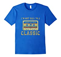 Vintage Cassette I\\\'m Not Old I\\\'m A Classic 1992 27th Tank Top Shirts Royal Blue