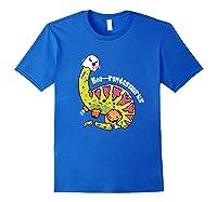 Boo Ghost Dinosaur Cute Brontosaurus Funny Halloween Gift Premium T-shirt Royal Blue