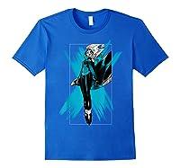 Marvel X- Storm Color Pop Box Graphic T-shirt Royal Blue