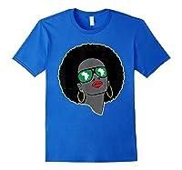 Black History Tshirts For | Pan African Shirt | 1619 T-shirt Royal Blue