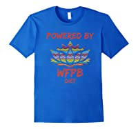 Wfpb , Powered By Whole Food Plant Based Diet Design Premium T-shirt Royal Blue