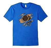 Guitar Inside Me Tear Cool Guitarist Music Musician Gifts Shirts Royal Blue