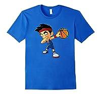 Dabbing Basketball Boy Player Australia Flag Funny Dab Dance Premium T-shirt Royal Blue