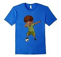 Soccer Shirt For Funny Dabbing Tee Gifts Royal Blue