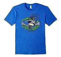 Batman Catwoman And Logo Shirts Royal Blue