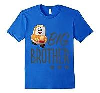 Netflix Go! Go! Cory Carson Big Brother T-shirt Royal Blue