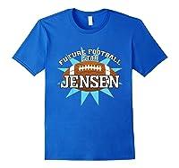 Future Football Star Jensen Birthday Boy Name Shirts Royal Blue