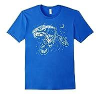 Astro Bike Astronaut Bmx Geschenk Shirts Royal Blue