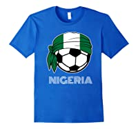 Nigeria Soccer 2019 Super Eagles Fans Kit Football Shirts Royal Blue