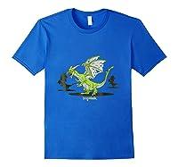 Dragonvale Zombie Dragon Shirts Royal Blue