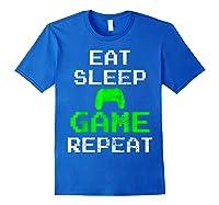 Gaming Console Vintage Shirts Royal Blue