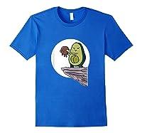 Circle Of Life Pregnancy Birth Gift For A Pregnant Vegan T-shirt Royal Blue