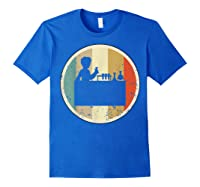 Laboratory Chemist Technician Science Scientist Research Job T-shirt Royal Blue