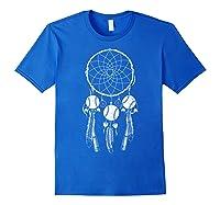 Softball Baseball Dream Cat Shirts Royal Blue