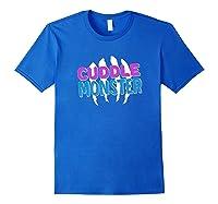 Cuddle Monster Gay Bear Lgbt Gay Pride Shirts Royal Blue