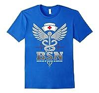 Gift For Bachelor Nurse Nurses Nursing Stay Strong T-shirt Royal Blue