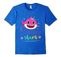 Nanny Shark Doo Doo Doo Shirt Matching Family Shark T-shirt Royal Blue