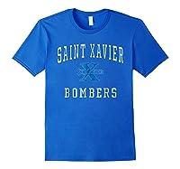 St Xavier High School Bombers C1 Shirts Royal Blue
