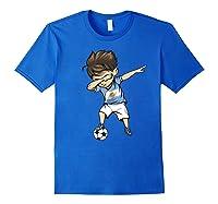 Dabbing Soccer Argentina - Argentinian Football Premium T-shirt Royal Blue