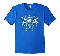 Lake Of The Ozarks Missouri Shirt, Fishing Boat Camping Gift Royal Blue