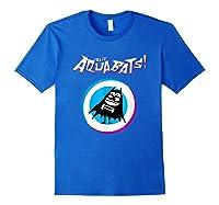 The Aquabats Logo Merchandise Shirts Royal Blue