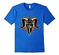 Some Who Call Me Tim Explosion T-shirt Royal Blue