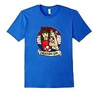 Croatian Girl Croatian Woman Croatia Croatian T-shirt Royal Blue