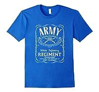 506th Infantry Regi Shirts Royal Blue