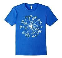 Mod Art Bursting Balls T-shirt Royal Blue
