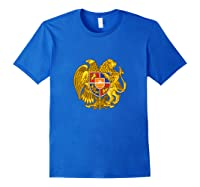 Aria Coat Of Arms Emblem On Shirts For & Tank Top Royal Blue