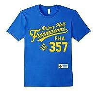 Masonic Prince Hall Pha 357 Sports Style Shirts Royal Blue