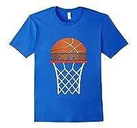 Basketball Foster Custom Name Gift, Shirts Royal Blue