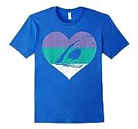 Funny Family Matching Gifts Great Shark T-shirt Royal Blue