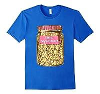 Antidepressant Cat Tshirt Kitty Happy Pills Cute Royal Blue