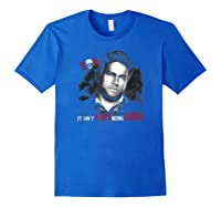 Sons Of Anarchy Jax Being King Shirts Royal Blue