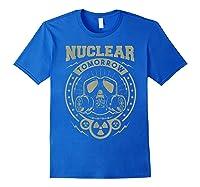 Nuclear Fallout - T-shirt Royal Blue
