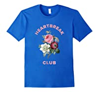Aesthetic Flower Shirt Royal Blue