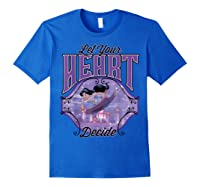 Aladdin Jasmine Let Your Heart Decide Ride Shirts Royal Blue