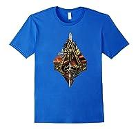 Assassin\\\'s Creed Syndicate Sword Logo Premium T-shirt Royal Blue