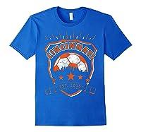 Vintage Cincinnati Soccer Sport Fan Gift Idea Fc 513 Shirts Royal Blue