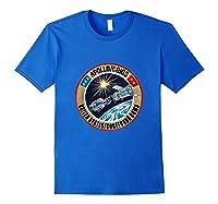 Apollo-soyuz Rendezvous Patch T-shirt Nasa History Royal Blue