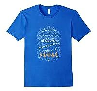 Camiseta De Mujer Para Mamas T-shirt Para Dia De Las Madres Royal Blue