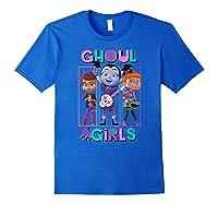 Vampirina Ghoul Girls Trio Shirts Royal Blue