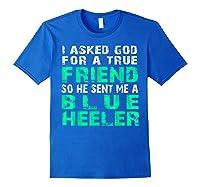 Blue Heeler Shirts Royal Blue