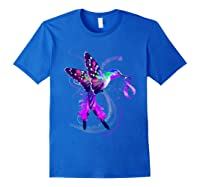 Hummingbird Purple Ribbon Pancreatic Cancer Awareness Shirts Royal Blue