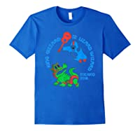 King Gizzard And The Lizard Wizard Shirts Royal Blue
