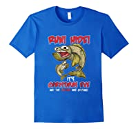 Italian St Of The Seven Fishes Christmas Eve Shirt! Royal Blue