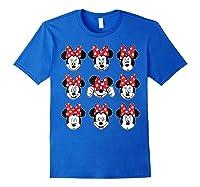 Disney Minnie Rock The Dots Oh My Minnie T-shirt Royal Blue